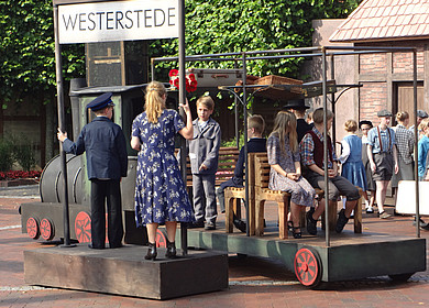 Ausschnitt des Theaterstückes Emil und die Detektive in Westerstede
