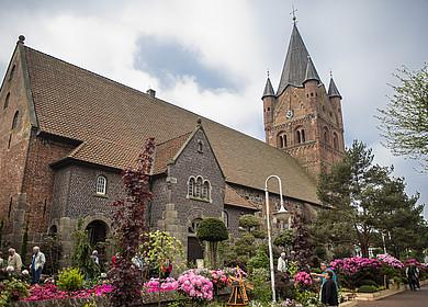 Die St. - Petri - Kirche auf der RHODO 2018 in Westerstede