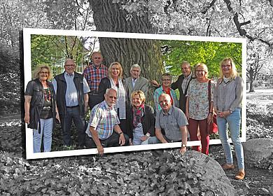 Die Gästeführer der Stadt Westerstede im Stadtpark Thalenweide